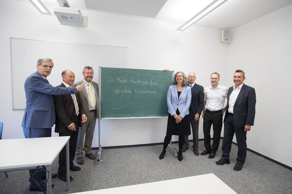 Tübingen: Raumbesichtigung  für zukünftiges Dr. Eberle Zentrum für digitale Kompetenzen