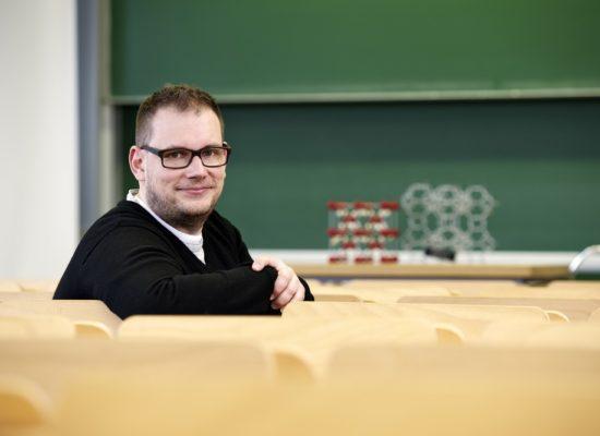 Prod. Dr. Sebastian Polarz Bild: Universität Konstanz